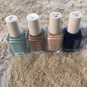 Other - Bundle of 4 bottles essie nail polish New
